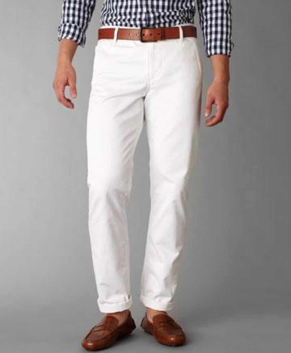 pantalon blanc homme mon pantalon quand la saison est chaude. Black Bedroom Furniture Sets. Home Design Ideas