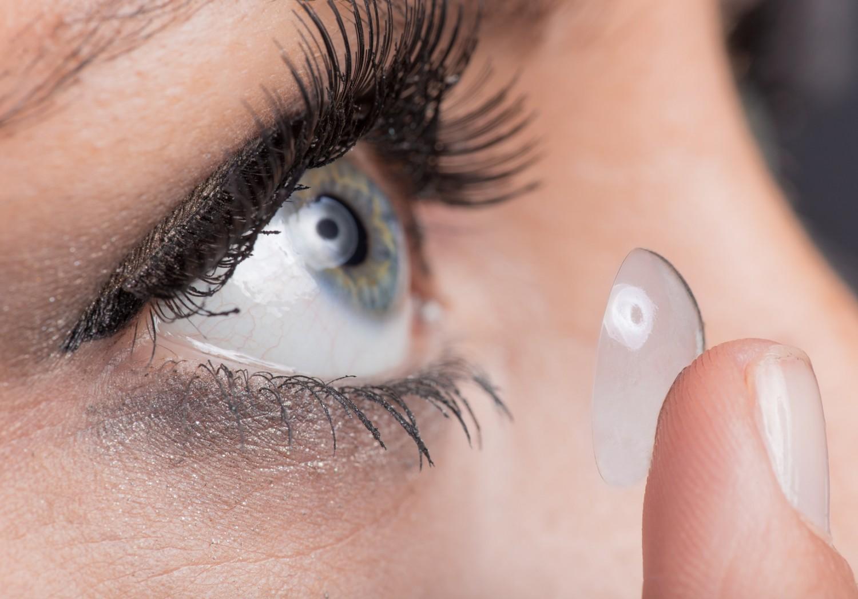Lentilles : yeux sensibles